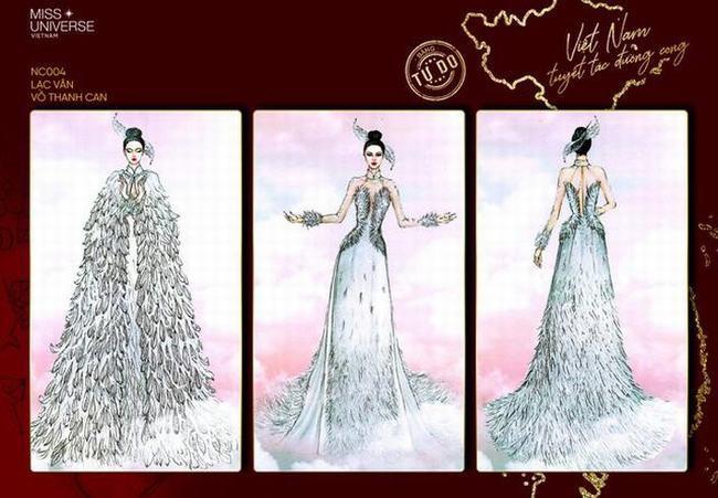 Lộ diện top 8 thiết kế trang phục dân tộc cho Khánh Vân tại Miss Universe 2020
