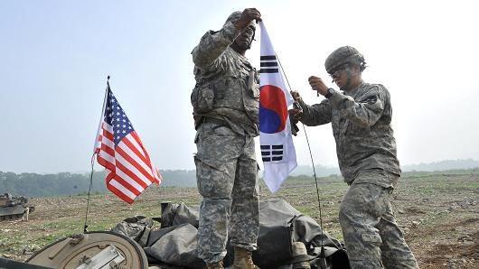 Mỹ và Hàn Quốc tập trận chung theo cách mới do ảnh hưởng của dịch COVID-19