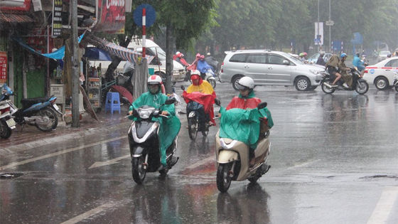 Dự báo thời tiết 21/3: Bắc Bộ đón không khí lạnh mạnh đem theo mưa rào và dông